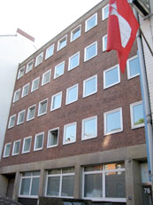 Geschäftssitz der Pestalozzi Stiftung Hamburg