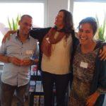 Mitarbeiter/innen des Treffs Rahlstedt mit Britt Lemke (Leitung Eingliederungshilfe)