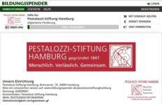 Bildungsspender - Pestalozzi-Stiftung Hamburg