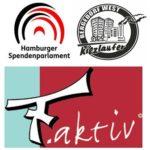 Das Hamburger Spendenparlament ermöglichte die Kiezläufer u.a. in Bergedorf-West