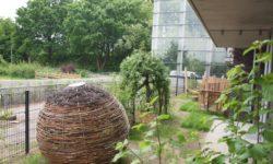 Kita Am Gleisdreieck - ein Teil des Gartens